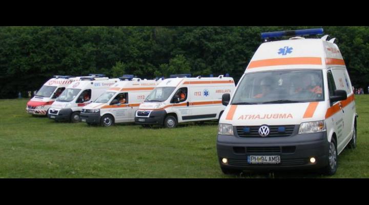 Sute de interventii ale Ambulantei, de Paste, in Prahova