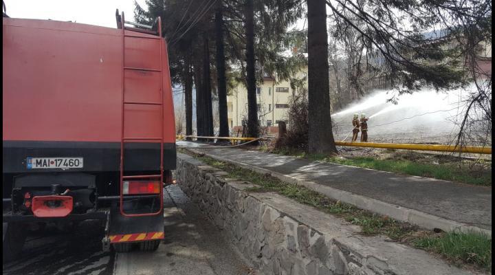 ISU Prahova: Atenție la incendiile de vegetație uscată!