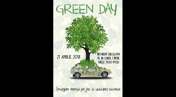 21 Aprilie - GREEN DAY, ziua in care se merge pe jos sau cu bicicleta la Sinaia