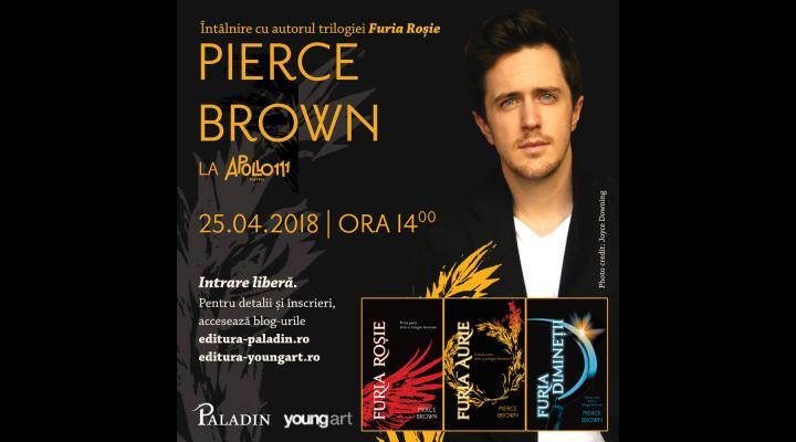 Scriitorul american Pierce Brown vine la Ploiești. Afla cand si unde