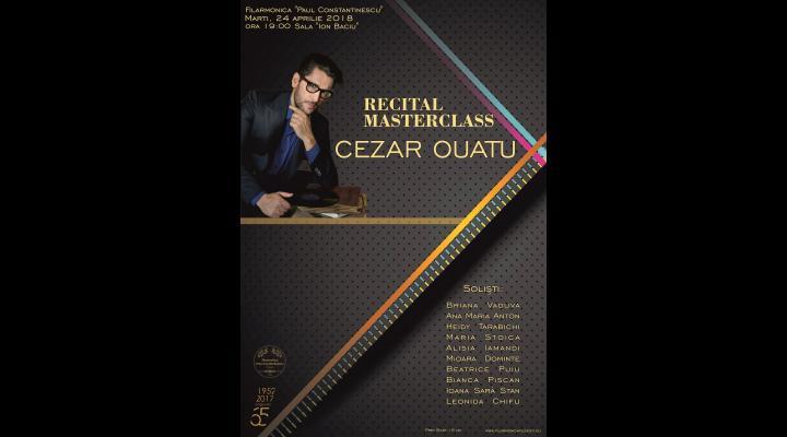 Elevii lui Cezar Oautu, in recital la filarmonica