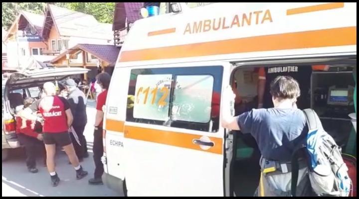 Salvamontistii, la datorie. Au recuperat doi turisti accidentati pe Jepii Mici