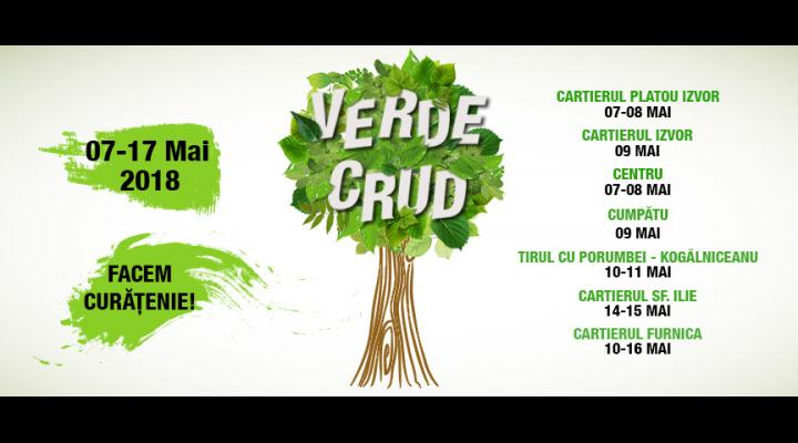 "La Sinaia incepe campania ""Verde Crud"""