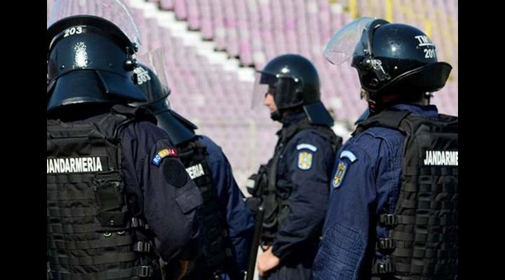 IJJ Prahova: Jandarmeria la datorie pe timpul meciului de fotbal dintre echipele FC Petrolul Ploiești -  Popești-Leordeni