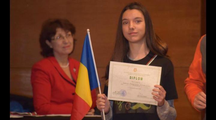 Aur pentru Maria Alexa Tudose din Ploiești, la Olimpiada Balcanică de Informatică pentru Juniori