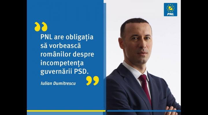 Iulian Dumitrescu, senator PNL: Guvernul nu a găsit încă bani pentru plata salariilor și pensiilor
