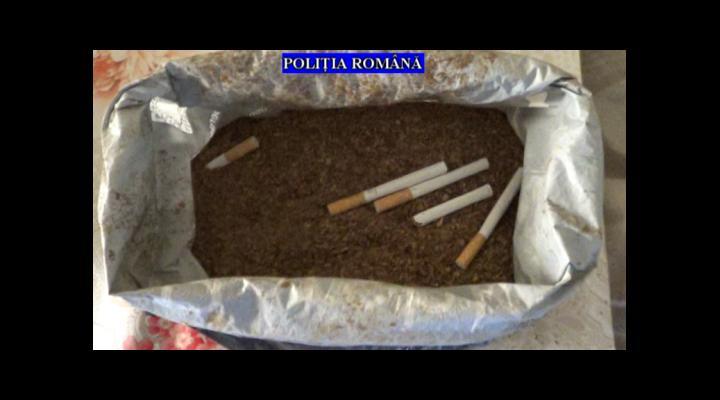 Peste 52.000 de țigarete și mai mult de 160 de kilograme de tutun, ridicate de polițiștii din Prahova