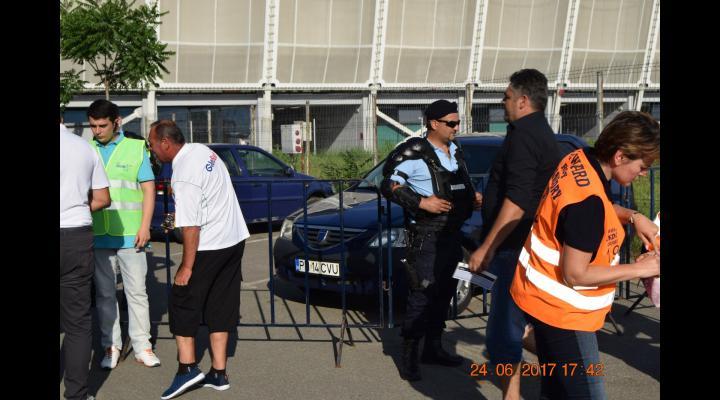 """IJJ Prahova: masuri de ordine pe Stadionul  """"Ilie Oană"""" din Ploiești"""