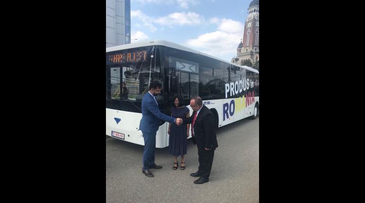 Contractul subsecvent privind achiziţia unui număr de 10 autobuze diesel Euro VI, semnat astazi