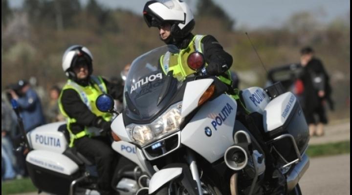 Motociclist urmarit in trafic, la Busteni