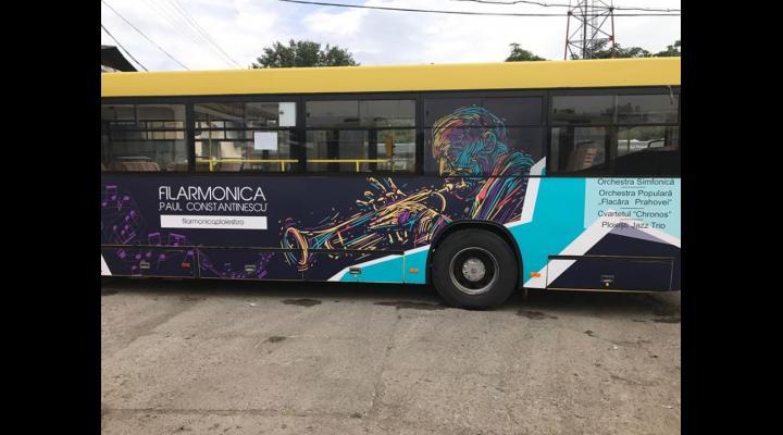 Jazz si muzica clasica in autobuze, dar si alte surprize din partea Filarmonicii Ploiesti, în Stagiunea 2018-2019