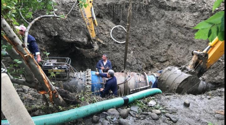 7 localitati din Prahova sunt fara apa, in urma unei avarii. Anuntul HIDRO Prahova