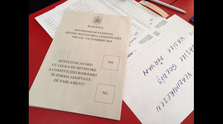 Prezenta la vot, in Prahova: 18,40%