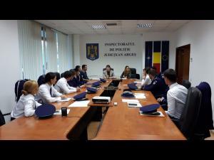 """Pentru 10 absolvenți ai Școlii de Agenți de Poliție ,,Vasile Lascăr"""" Câmpina, prima zi de munca"""
