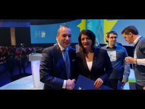 Catalina Bozianu a facut parte din delegația PMP la Congresul Partidului Popular European de la Helsinki