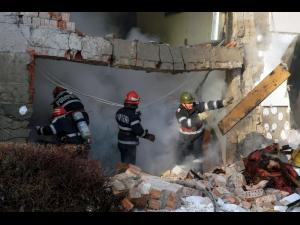 Explozie la o casa din Gornet Cuib