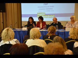 Colegiul Național al Organizației de Femei a PMP, organizat la Sinaia