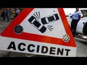 Accident la iesirea din Ploiești, spre Brașov
