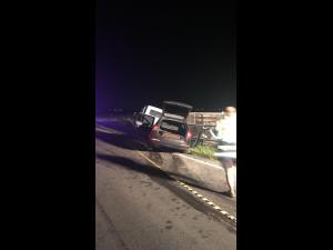 Tragedie, noaptea trecută, pe DN1, în zona Băicoi. În urma unui accident, șoferul unui autoturism a decedat