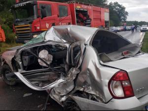 Accident grav în Dâmbovița. O persoană a murit