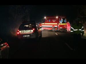 Accident în Vărbilău, aseară. Trei persoane au ajuns la spital