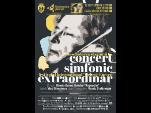 """Filarmonica """"Paul Constantinescu"""" deschide Stagiunea  67  cu un concert extraordinar inclus în programul Festivalului Internațional """"George Enescu"""