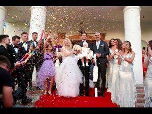 Andreea Bălan s-a căsătorit religios