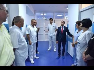 FOTO Secția Neurochirurgie de la SJU Ploiești, modernizată. Sunt așteptați pacienți din alte trei județe