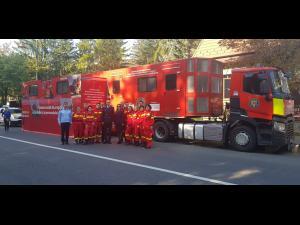 """Caravana SMURD """"Fii pregătit!"""" ajunge la Brazi"""