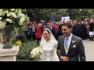 Nicolae, fostul principe al Romaniei, si sotia lui sarbatoresc astazi un an de la casatorie. Nunta regala a avut loc la Sinaia