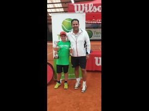 Elevul ploieștean Eric Maximmilian Nita a devenit campion international la tenis