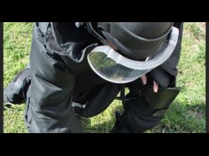 Un proiectil de 30 mm din timpul celui de-al Doilea Razboi Mondial a fost gasit intr-o gospodarie din Ploiesti