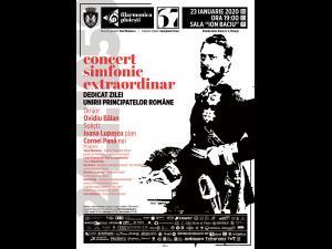 Concert simfonic dedicat Zilei Unirii Principatelor Române susținut de filarmonica ploieșteană