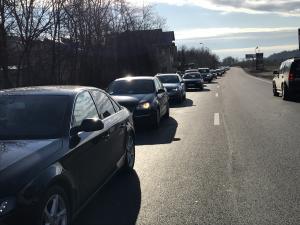 VIDEO/FOTO Trafic aglomerat pe DN1, pe sensul spre munte