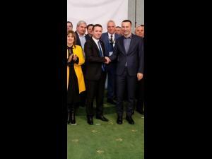 Lansarea candidatului PNL la Primaria Maneciu, Florin-Auraș Dragomir, a avut loc astazi in prezenta presedintelui PNL Prahova, Iulian Dumitrescu