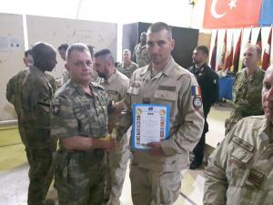 4 jandarmi ploieșteni au reprezentat cu succes România în teatrul de operațiuni NATO