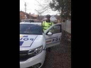 Un politist prahovean, erou. Se ducea spre serviciu și a intervenit la un accident rutier