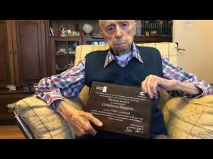 Un bărbat din Provița de Jos, declarat al treilea cel mai longeviv barbat de pe Pamant