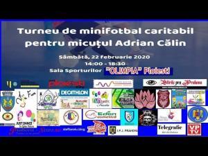 Turneu de minifotbal la Ploiești, un eveniment caritabil pentru un băiețel de 4 ani