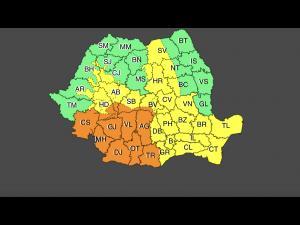 COD GALBEN de vânt și precipitații mixte în Prahova. Sunt așteptate și ninsori pe întreg județul