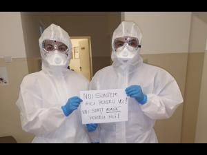 Mai multe materiale de protecție au ajuns la spitalele din Prahova