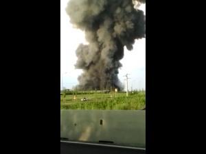 Ministerul Mediului: Incendiul de la Balotești nu a produs o poluare semnificativă (VIDEO/FOTO)