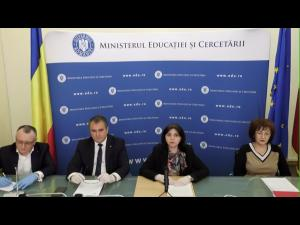 OFICIAL: Măsurile stabilite de Ministerul Educației și Cercetării cu privire la reluarea cursurilor
