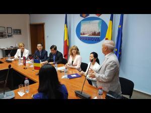 Premieră în Prahova: delegație a Regatului Cambodgiei