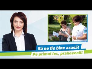 Cătălina Bozianu, candidat PMP la funcția de președinte CJ Prahova: să ne fie bine acasă, în Prahova