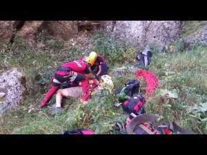UPDATE Un tânăr din București a căzut pe  Valea Seacă a Crucii