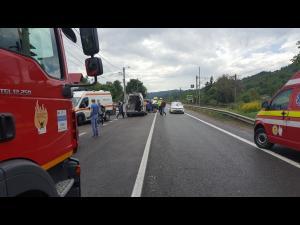 Accidente în lanț, pe DN 1, în Cornu