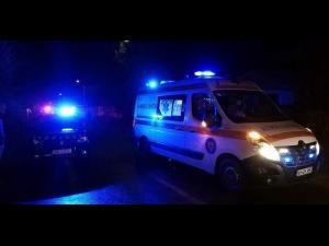 Un elev al Școlii de Poliție din Câmpina, erou. A salvat doi polițiști și un jandarm dintr-o mașină care ardea