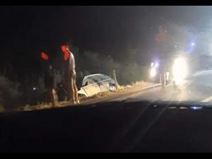 Un sofer s-a rasturnat cu masina dupa ce a lovit un mistret in Magurele