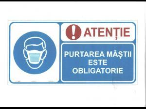 SGU Ploiești atrage atenția că masca de protecție este obligatorie și în parcuri sau locuri de joacă